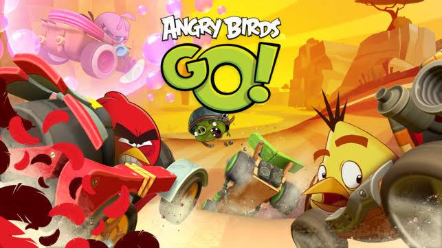 Angry Birds Go! v2.9.1 Apk Mod [Moedas Infinitas/Desbloqueado]