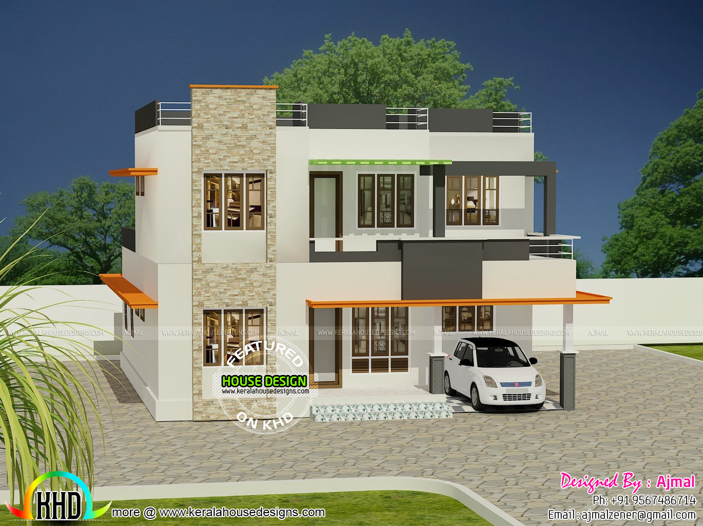 20 Lakh Home In Surat 20 Lakhs House In Kerala Kerala Home Design Bloglovin