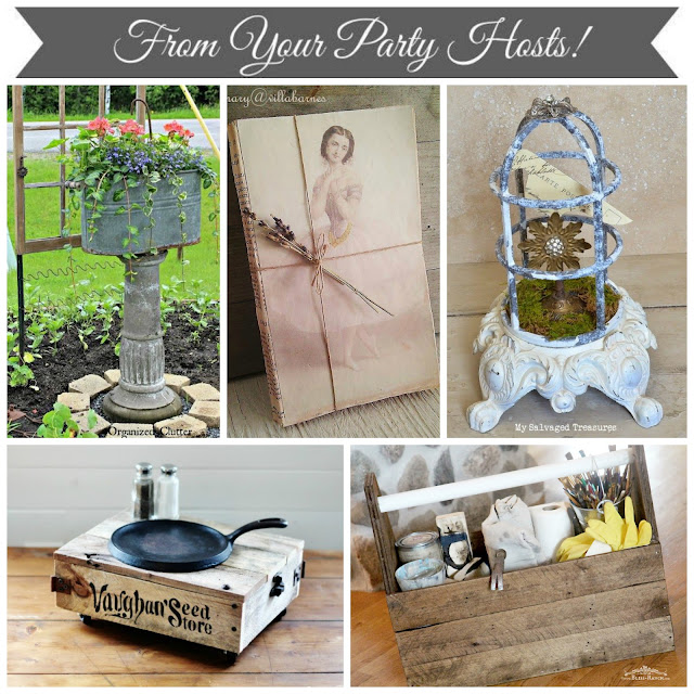 Vintage Inspiration Party Host Features June Bliss-Ranch.com