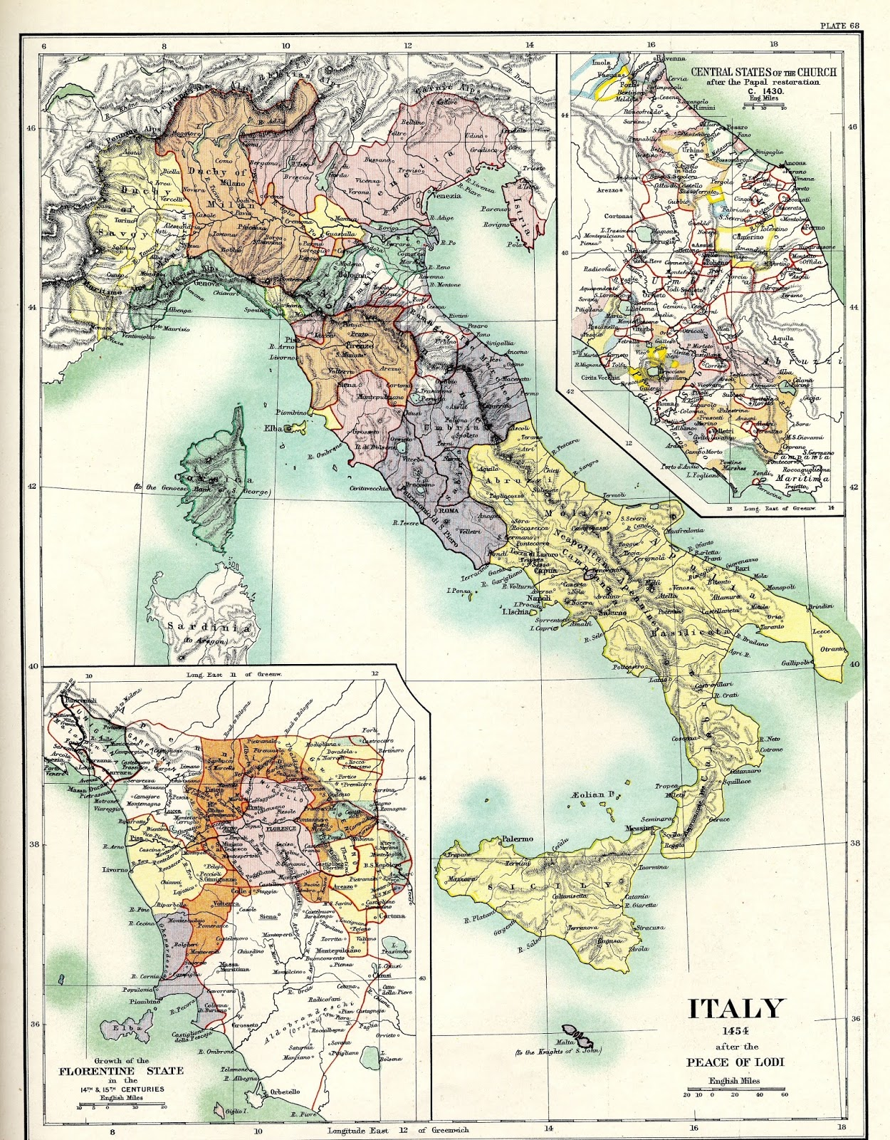 Treaty Of Lodi Italy On This Day