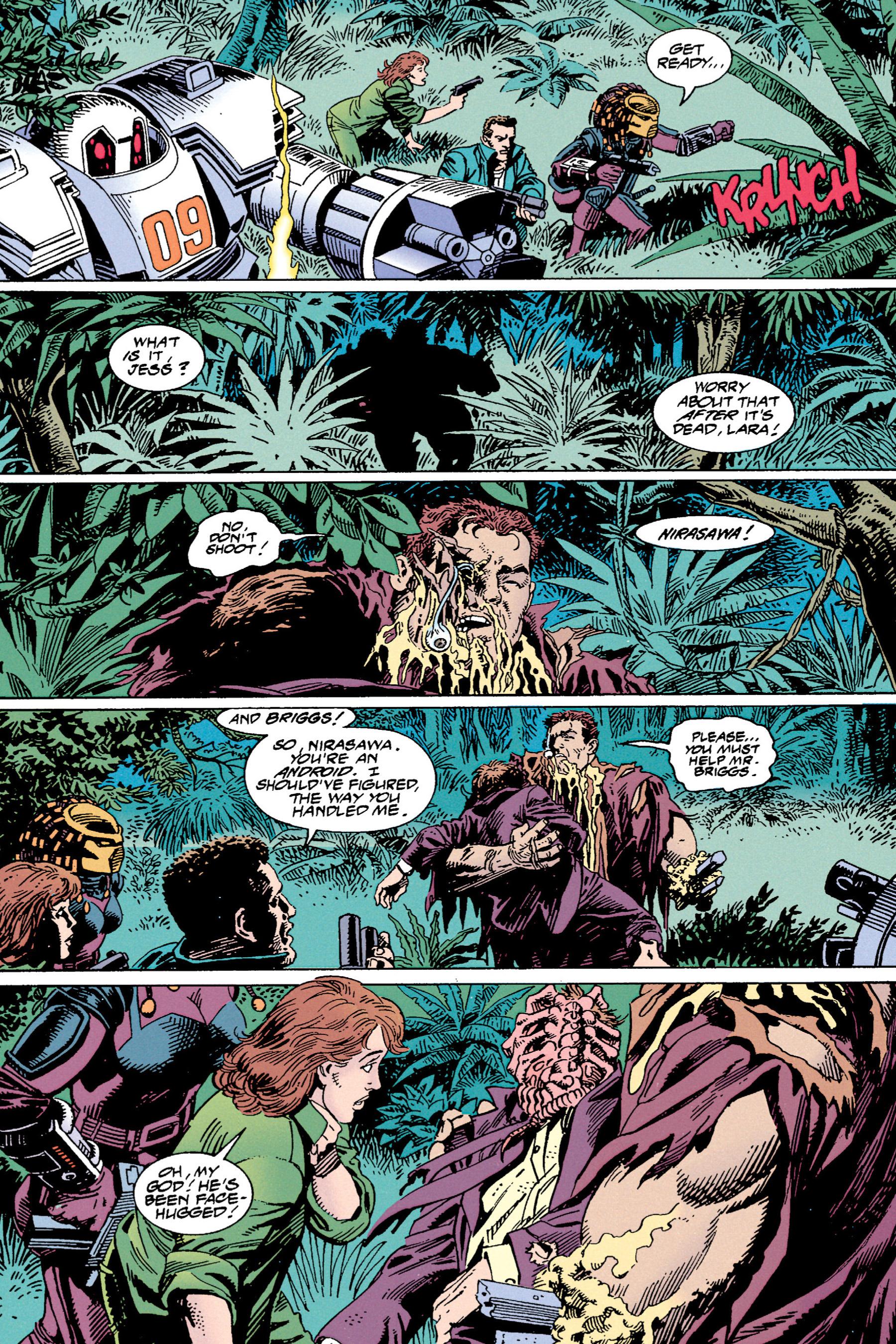 Read online Aliens vs. Predator Omnibus comic -  Issue # _TPB 1 Part 4 - 27