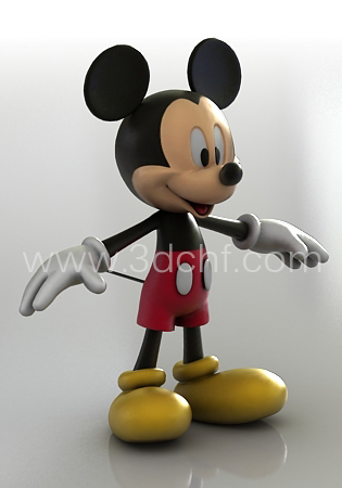 mickey_3d_model_download