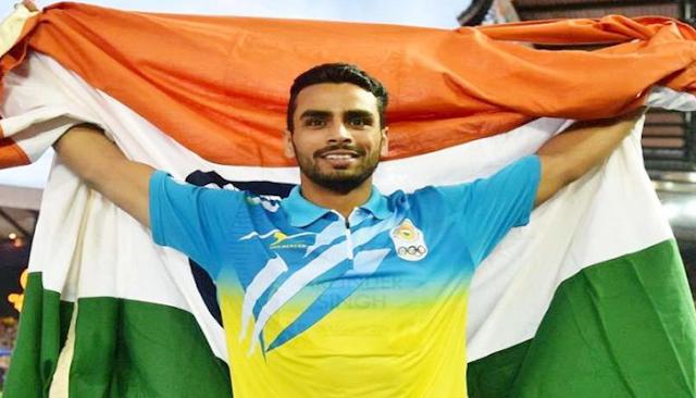 ASIAN GAMES: भारत को एथलेटिक्स में अर्पिंदर सिंह ने दिलाया 11वां गोल्ड मेडल