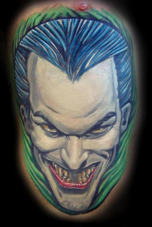 joker tattoo designs pictures - photo #16