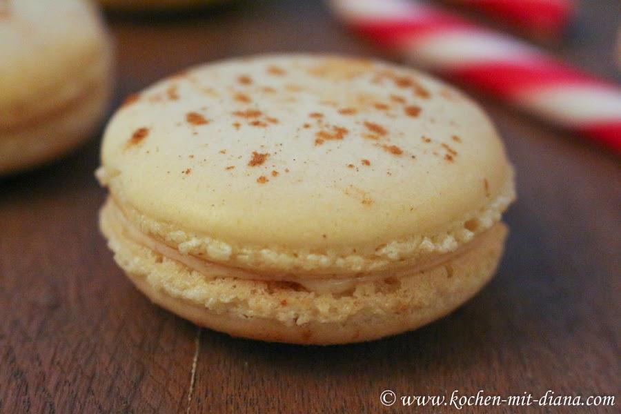 Zimt-Macarons