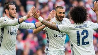 Real Madrid Menang 2-1 atas Athletic Bilbao