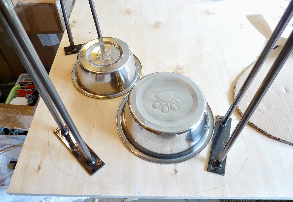 How to Make a Plywood Raised Pet Feeder