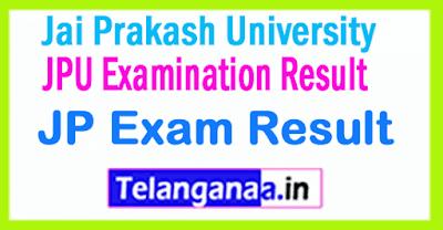 JPU Jai Prakash University Exam Result