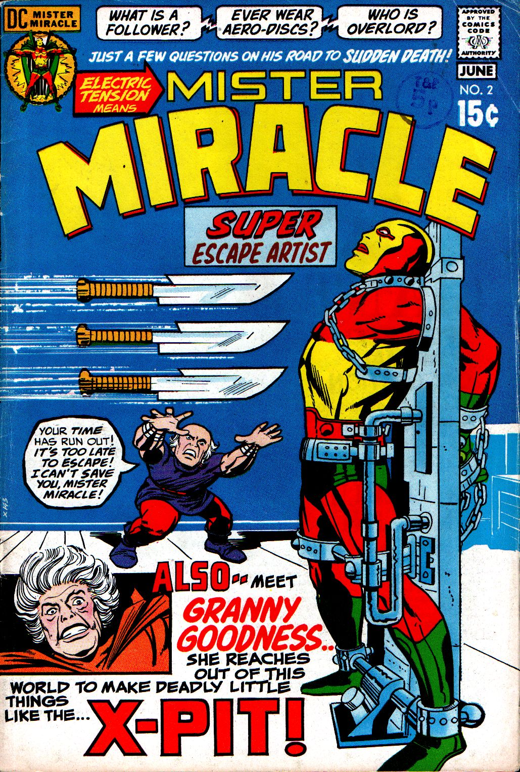Mister Miracle (1971) issue 2 - Page 1