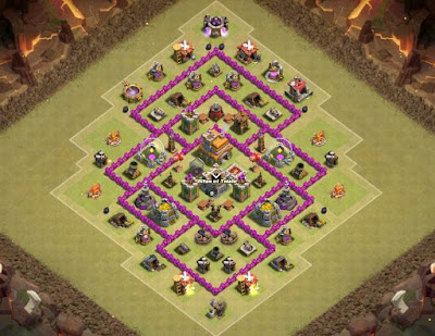 War Base TH 7 Terbaik Anti Naga