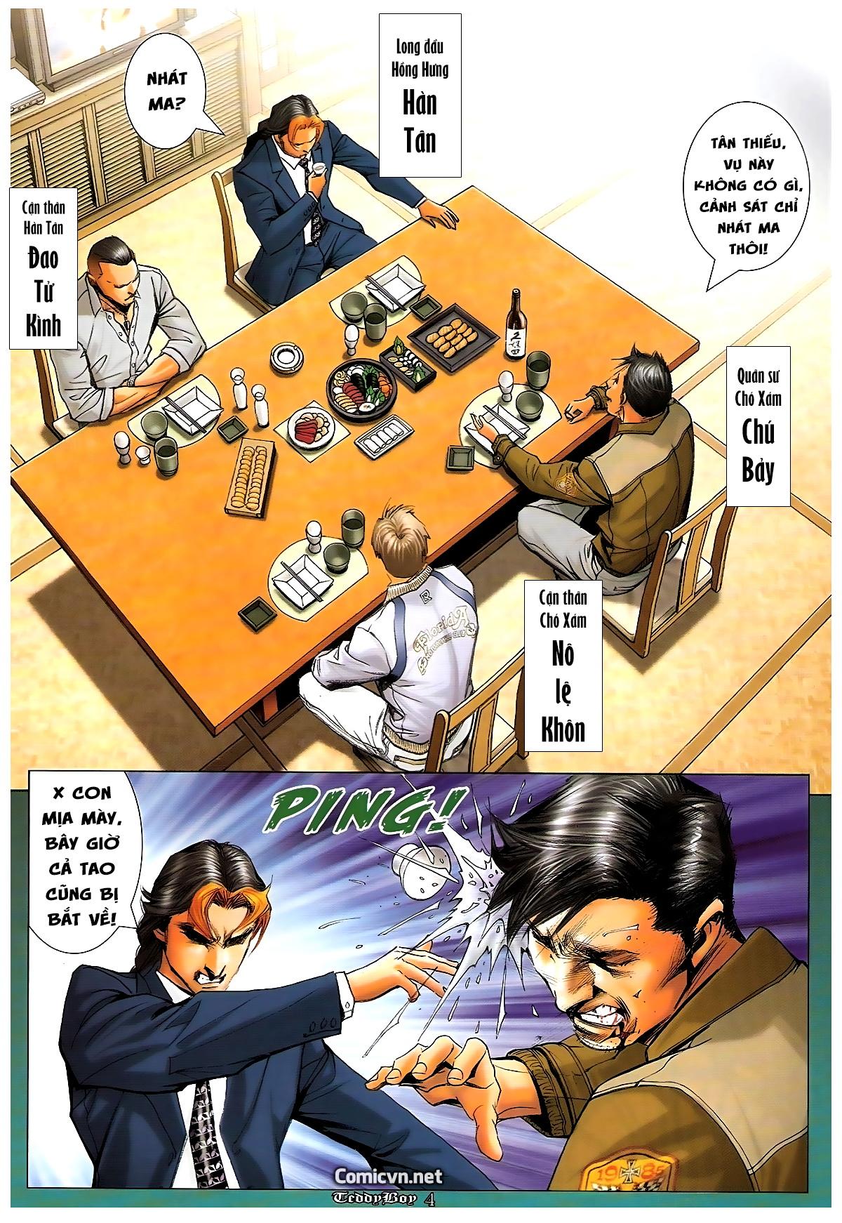 Người Trong Giang Hồ - Chapter 1244: Mắt Hí - Pic 3