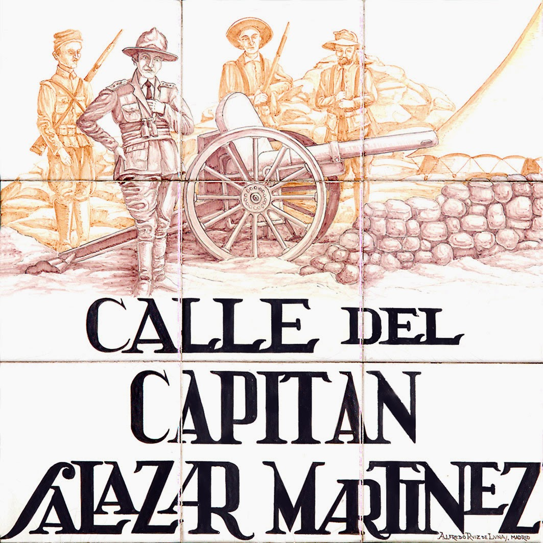 Calle del Capitan Salazar Martinez