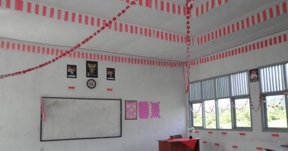 30 Ide Dekorasi Kelas Tema Merah Putih Fatiha Decor