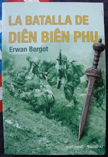 Portada del libro La batalla de Diên Biên Pau, de Erwan Bergot