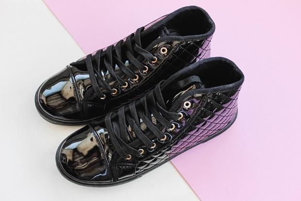Tênis preto Amiclubwear