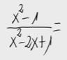 13.Simplificación de cociente de polinomios
