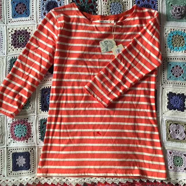 organic cotton sailor top