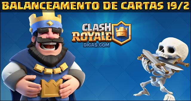 Balanceamento de Cartas Clash Royale