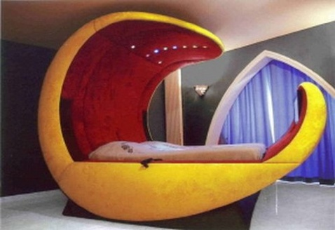 this is the related images of Weird Shaped Beds