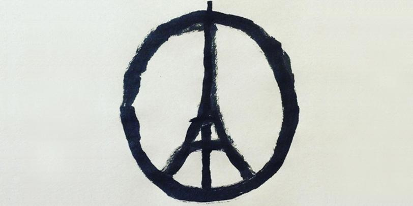 Eiffel Tower Peace Symbol Goes Viral - The Art of Jean Jullien