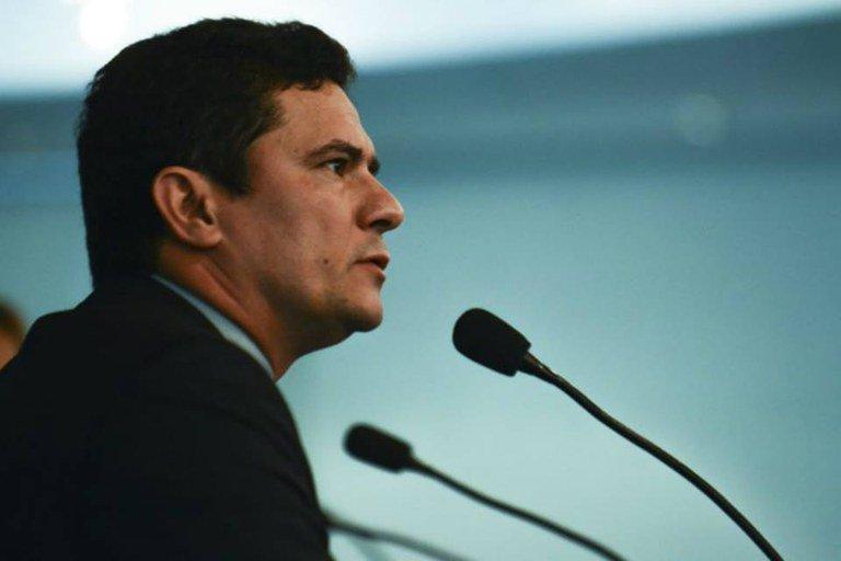 Moro é vaiado em congresso de procuradores municipais no Paraná - Foto: Rovena Rosa / Agência Brasil