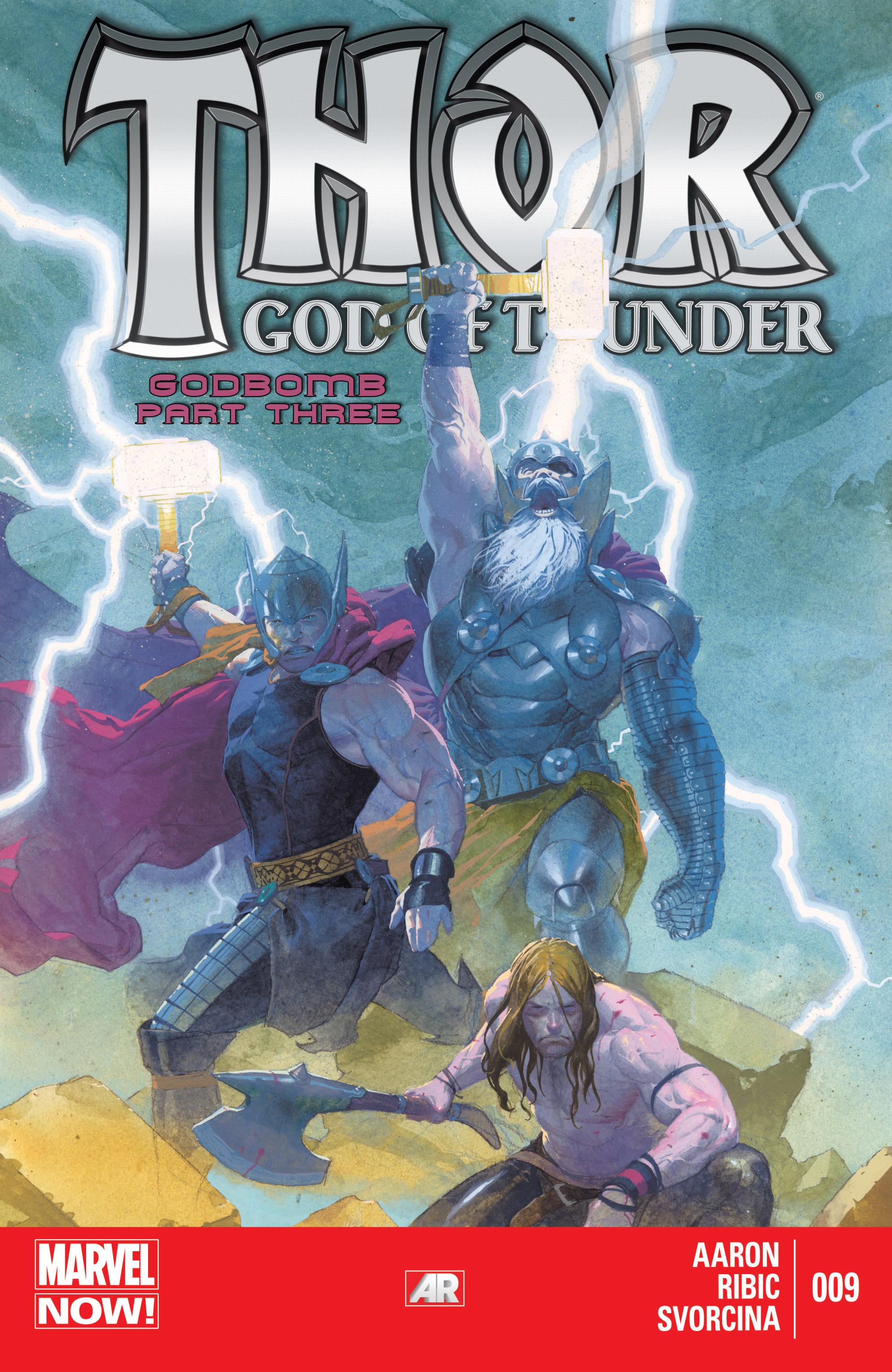 Thor: God of Thunder 9 Page 1