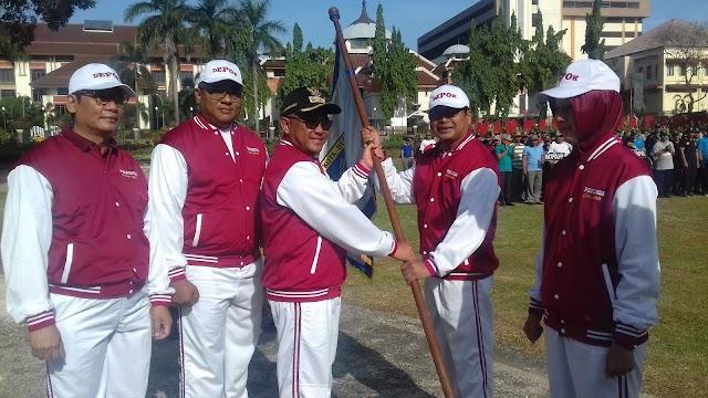 Walikota Targetkan Kontingen Porpemda Depok Masuk Lima Besar