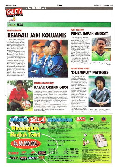 JEDA LIGA INDONESIA V 1999
