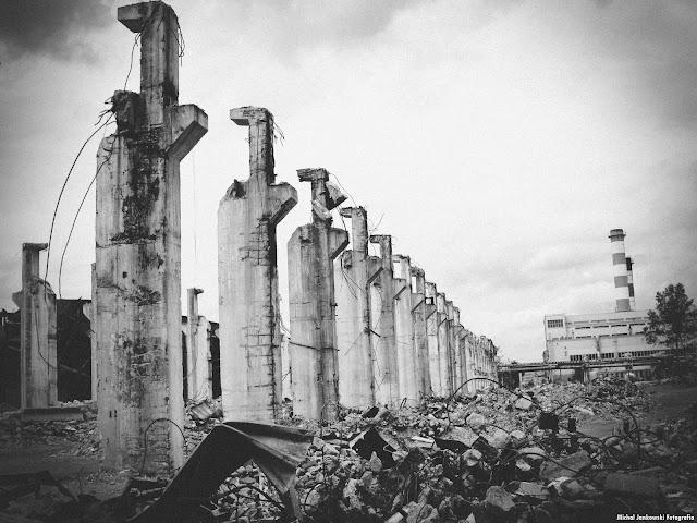 Pozostałości po Hali na Ursusie | Fabryka Traktorów URSUS, Warszawa