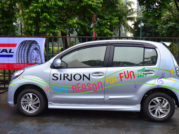 Pengalaman menaiki Daihatsu Sirion terbaru bersama Sahabat