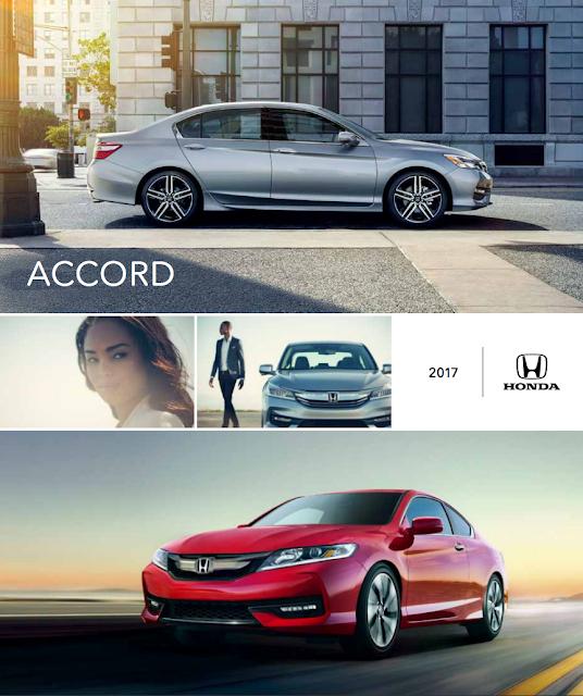 Downloadable 2017 Honda Accord Brochure from RiverTown Honda