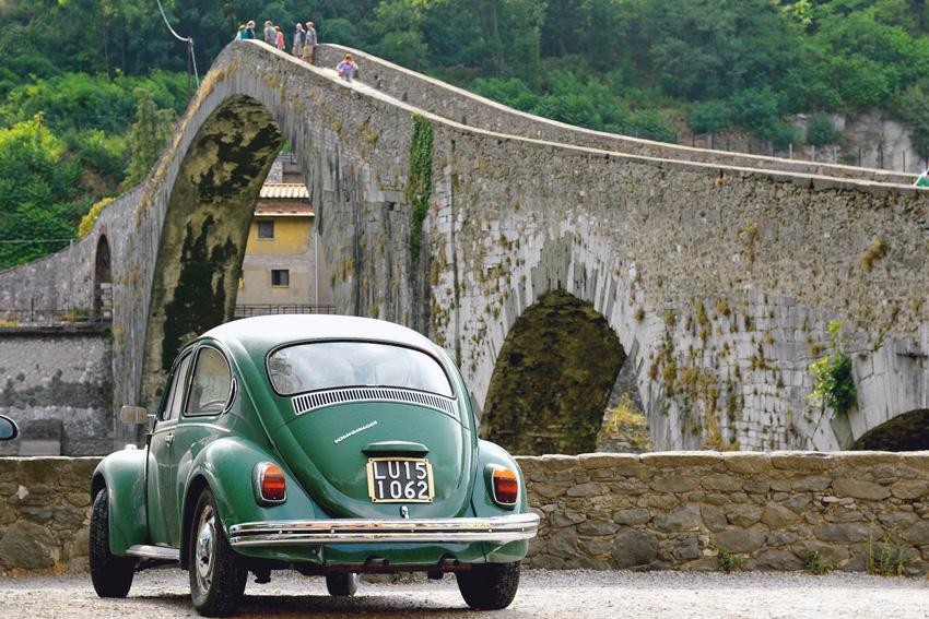 majówka, majówka we Włoszech, Toskania, Garafagnana, most diabła w Toskanii
