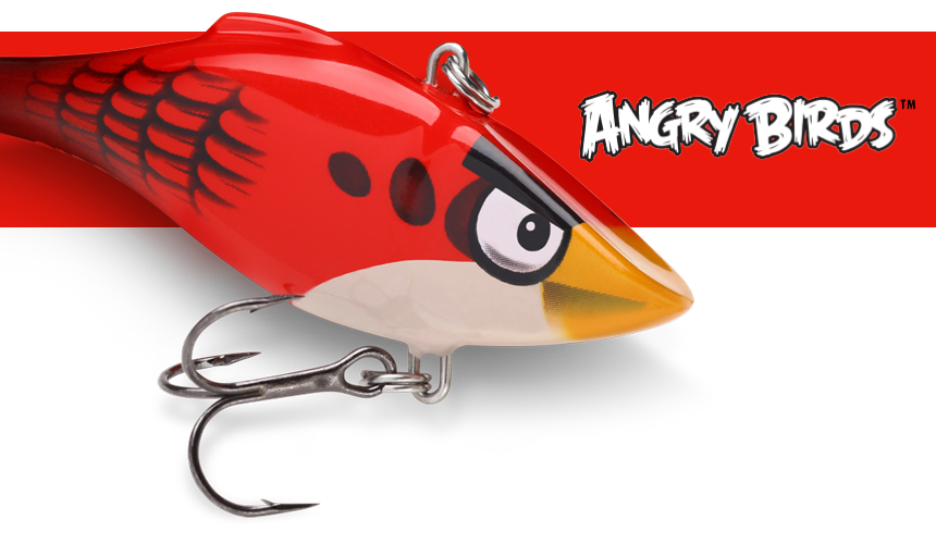 "RAPALA-/""ANGRY BIRDS/""-RED BIRD-NEU"