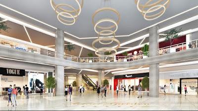 Dự án tiện ích nội khu Grandeur - Trung tâm thương mại trong tòa tháp 1