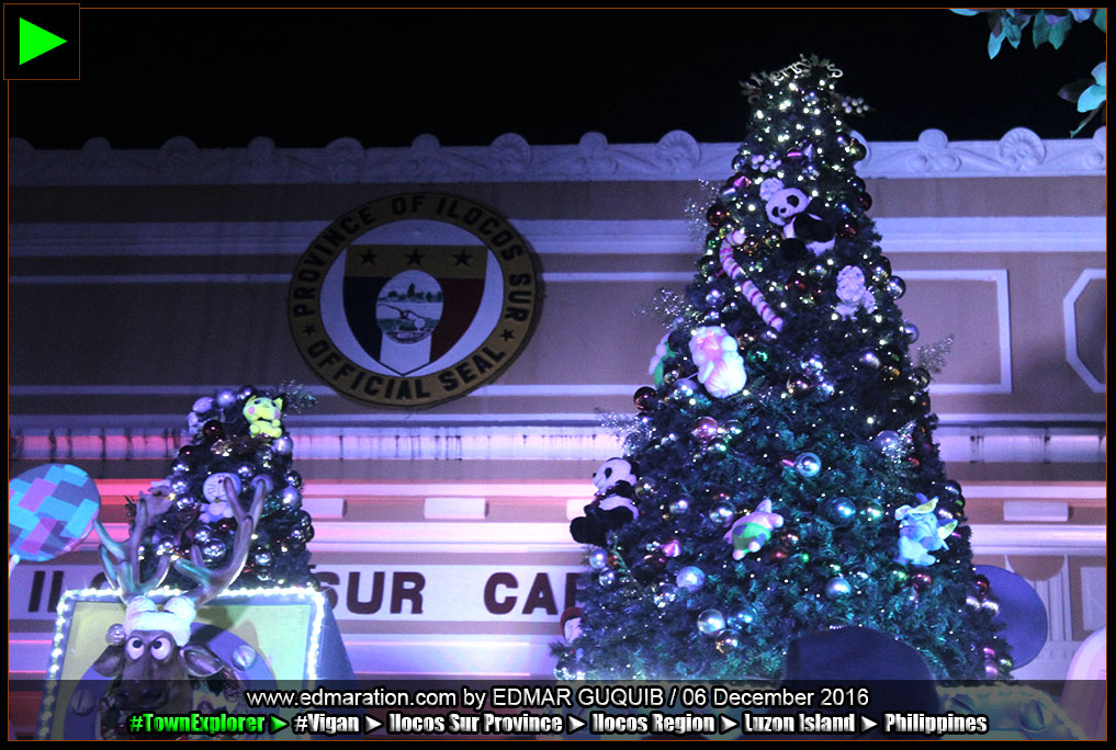 ILOCOS SUR CAPITOL CHRISTMAS TREE, DECORATIONS