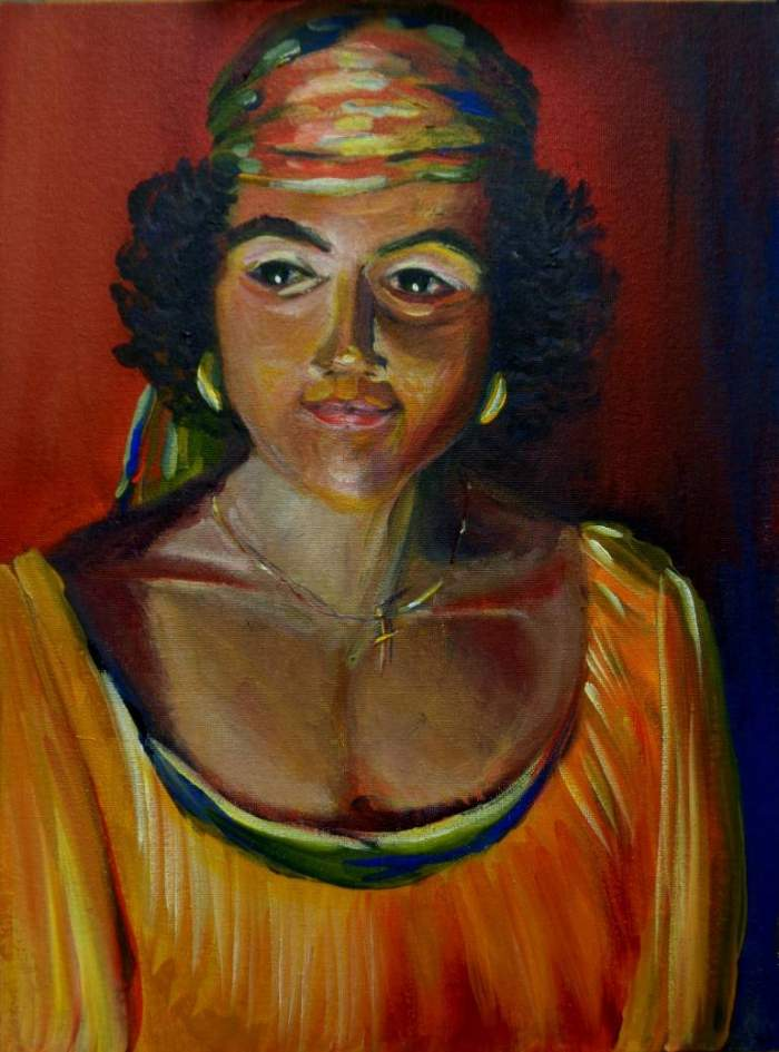 Американский художник. Vanessa Hadady