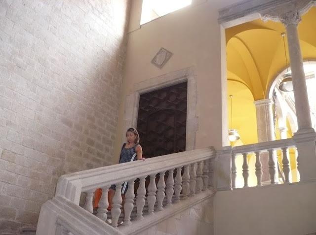 scalone del Palau del Lloctinent