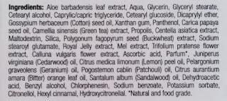 Dr. Organic Royal Jelly Eye Serum ingredients