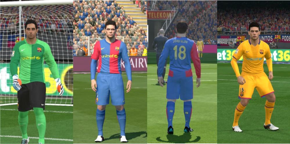 Ultigamerz Pes 2016 Fc Barcelona 2006 07 Kits