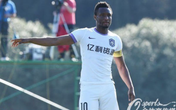 Mikel Obi becomes captain of Chinese club Tianjin Teda
