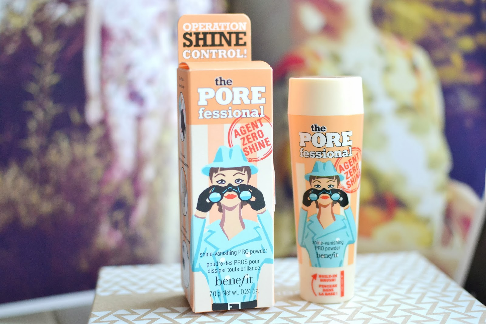 Benefit Porefessional Agent Zero Shine review, setting powder for matte look