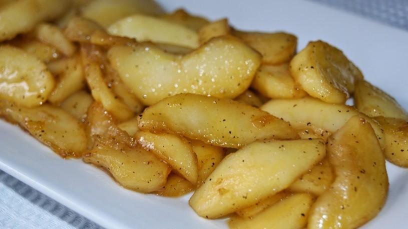 guarnicion-manzana-caramelizada
