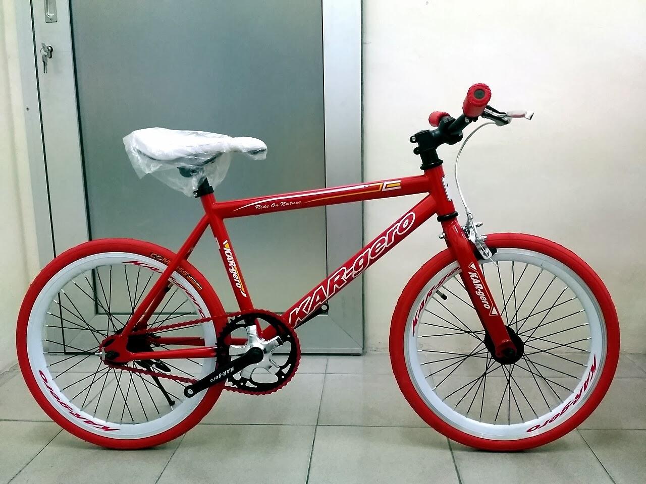 CHOO HO LEONG (CHL) Bicycle: Mini Fixie Bike Kargero