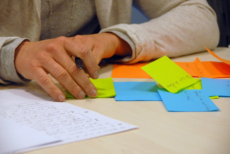 brainstorming process