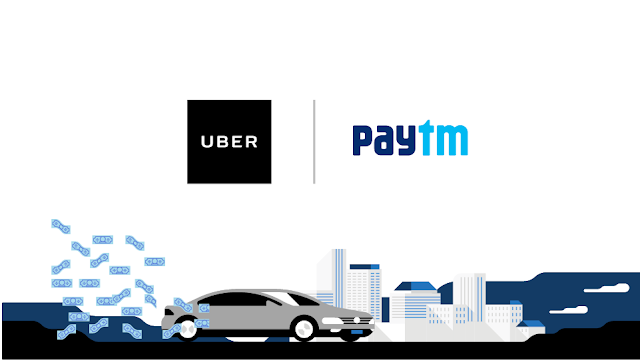 Paytm Uber Offer 25% Cashback on all rides via Paytm Wallet