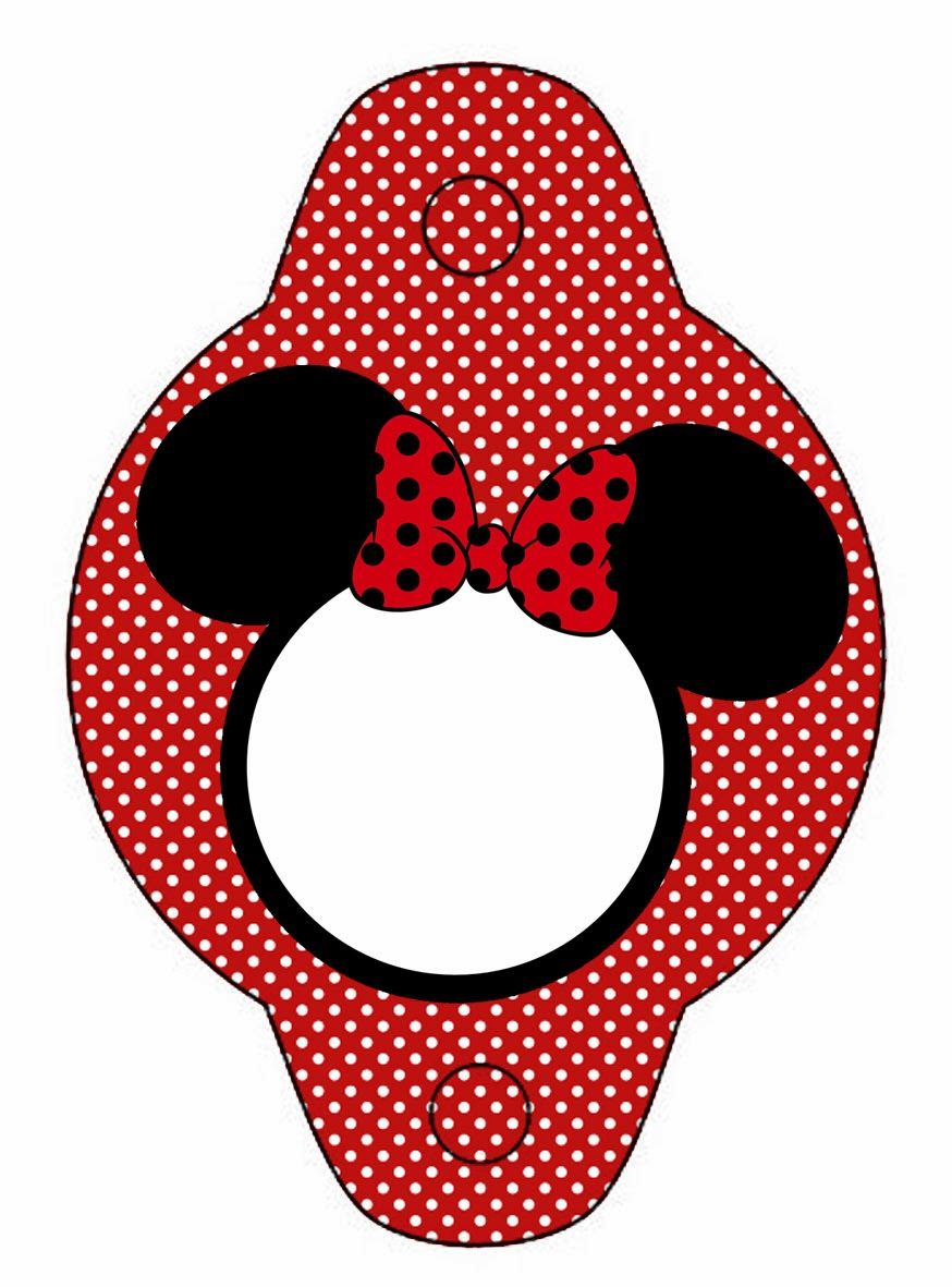 Minnie In Red Free Printables And Party Invitations Oh