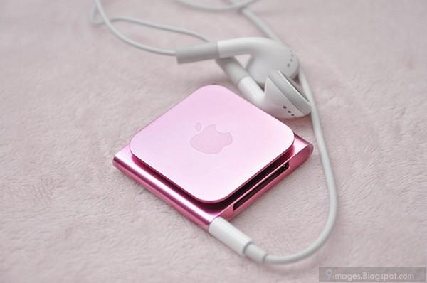 Pink, ipod, apple, music, player