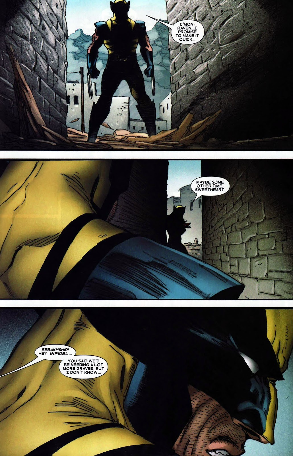 Read online Wolverine (2003) comic -  Issue #62 - 24