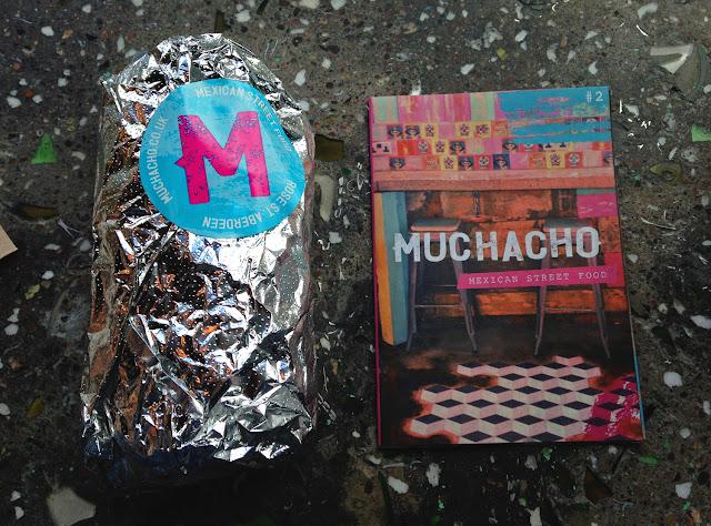 Burrito - Muchacho Rose Street Aberdeen