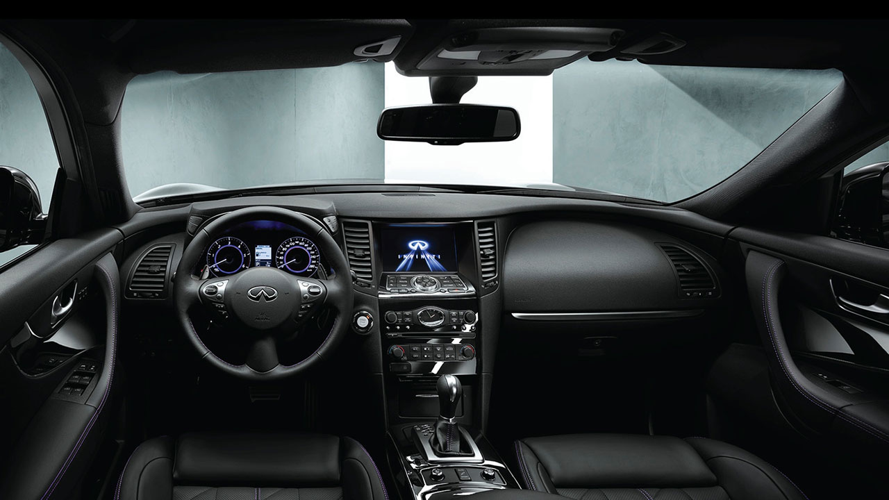 Infiniti QX705 Design interior